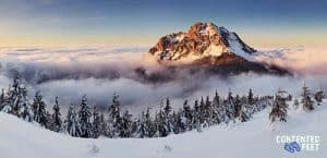 Winter Mountain Top