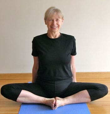 Eve Johnson from Five Minute Yoga