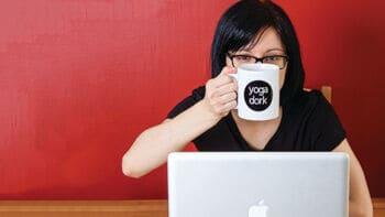 Jennilyn Carson from YogaDork