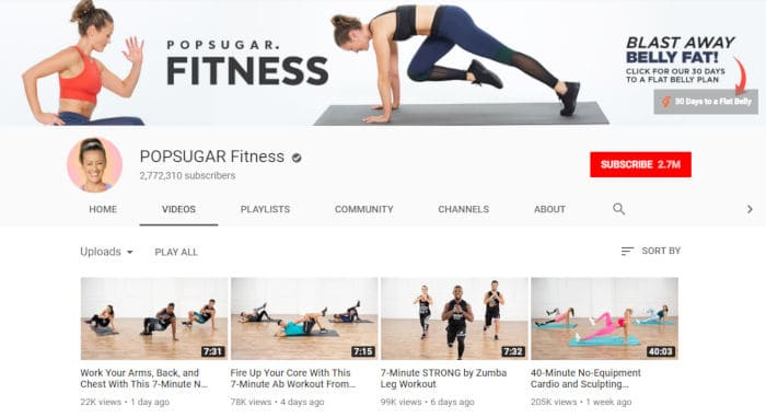 POPSUGAR Fitness by Anna Renderer
