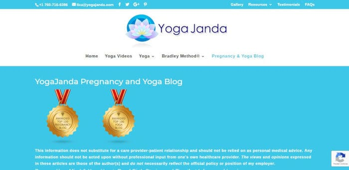 Yoga Janda Pregnancy and Yoga Blog